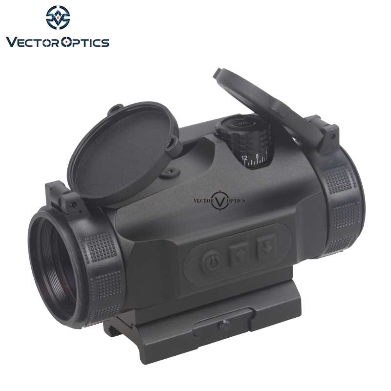 Vektör optik Avcılık 1x30 Refleks Red Dot Sight Kapsam 3 MOA otomatik Parlaklık Nokta fit AK47 AR15 9mm Picatinny Weaver Rail Laru